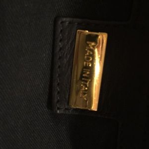Genuine Italian leather